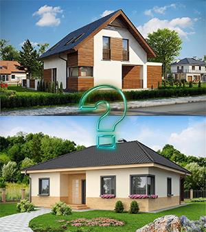 Что лучше: одноэтажный или двухэтажный дом?