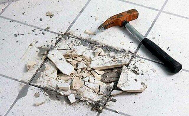 Ремонт керамической плитки