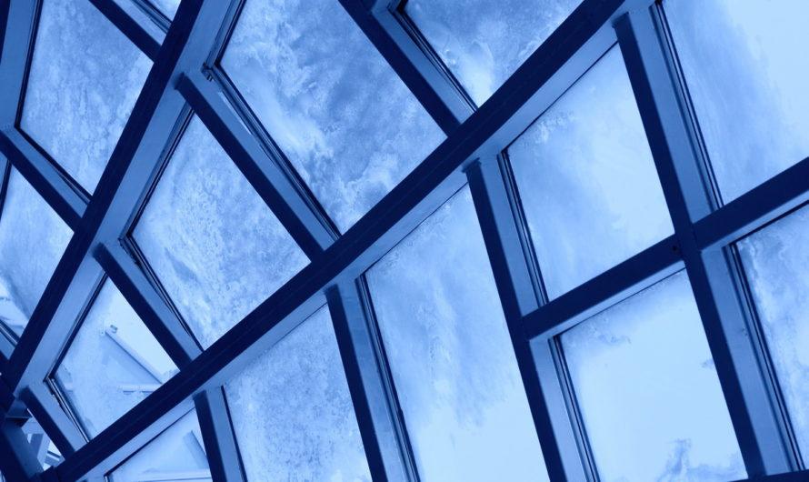 Стеклянная крыша в частном домостроении