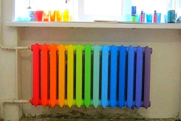 Как выбрать краску для радиаторов отопления?