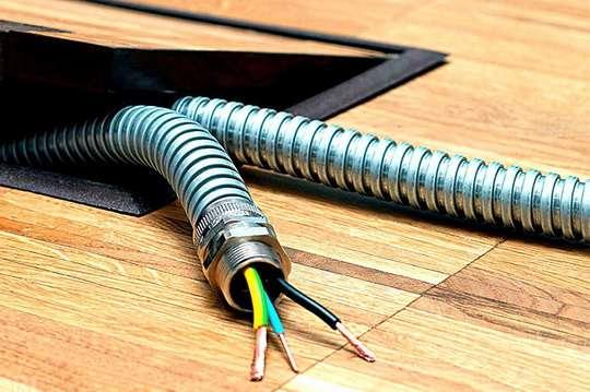 Как выбрать металлорукав для электрического кабеля?