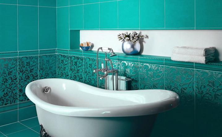 Как обложить плиткой ванную — и стены и пол