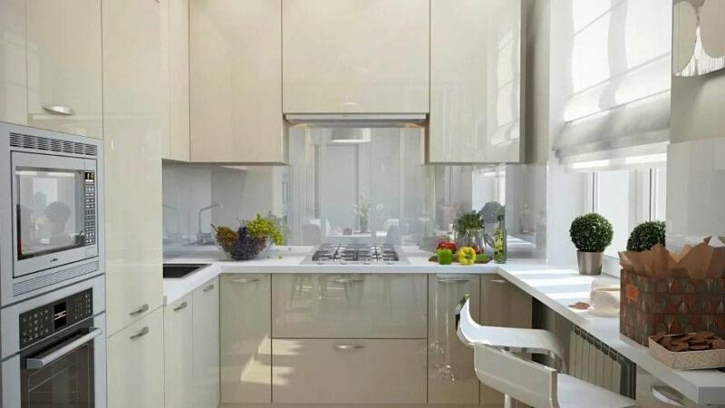 Дизайн маленькой кухни – варианты планировки и оформления