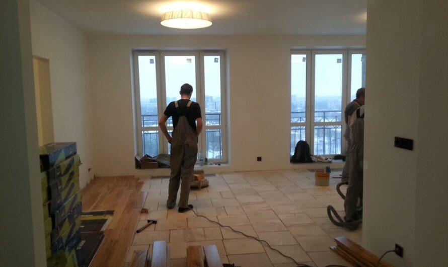 С чего начинается глобальный ремонт в квартире