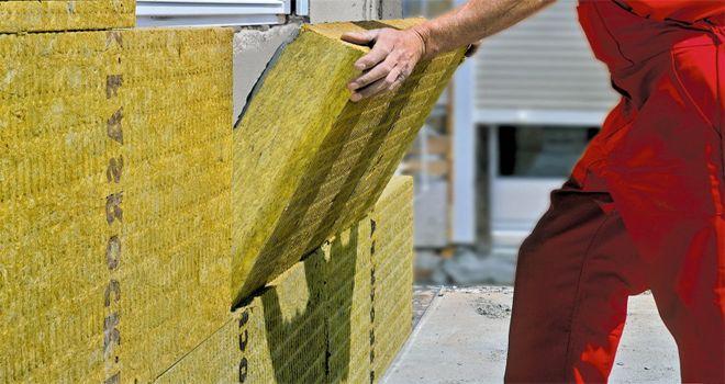 Утепление фасадов стекловолокном и минеральной ватой