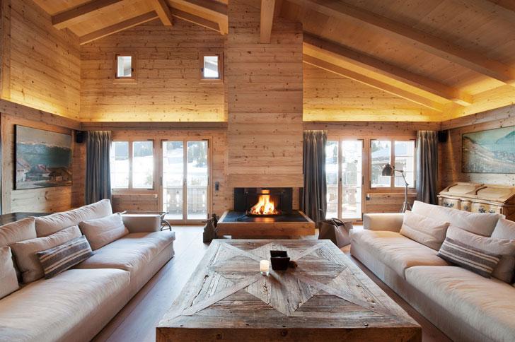 Стиль Шале: Романтика Альп в Квартире или Загородном Доме