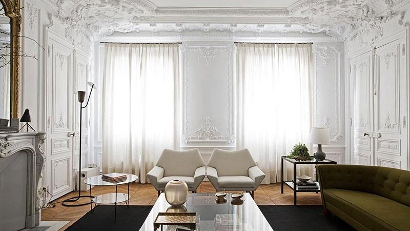 Декоративная лепнина в современных элитных домах и квартирах