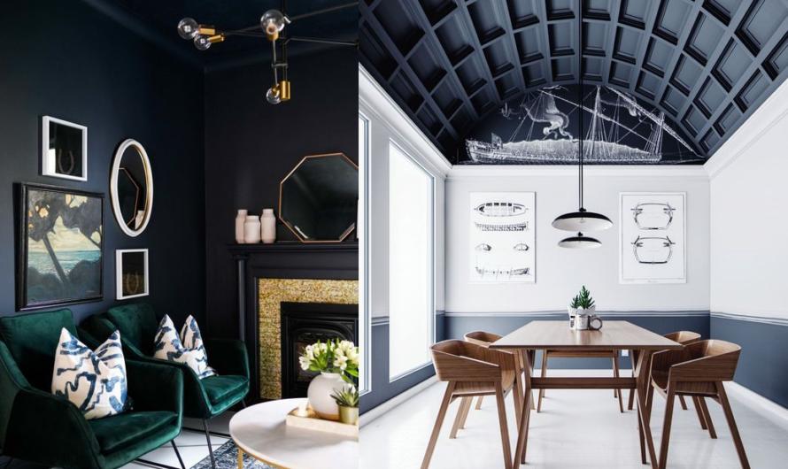 Чёрный потолок в интерьере: тренд или бред?