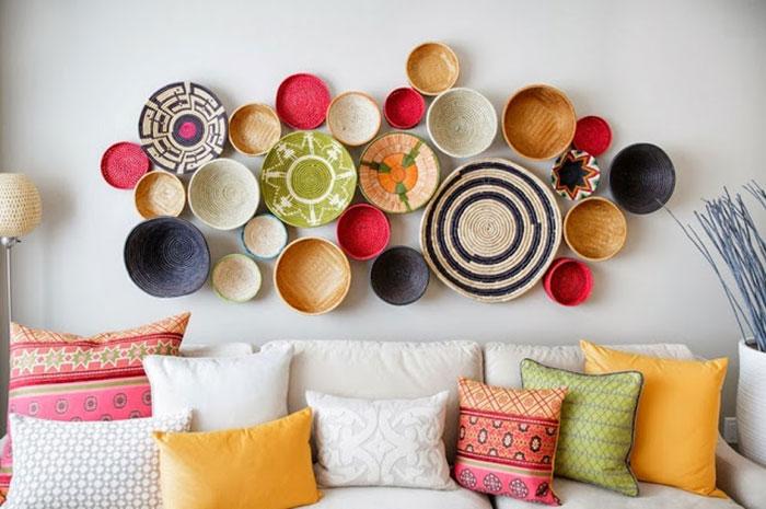 Оформляем пустую стену: 10 эффектных дизайнерских идей