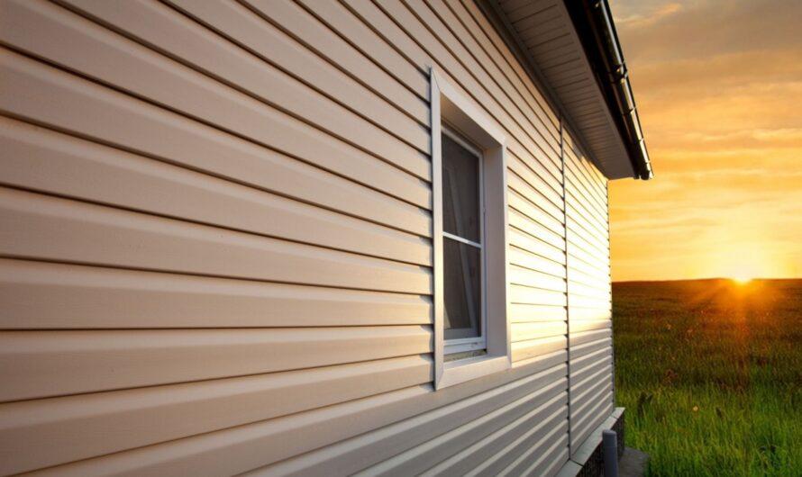 Виниловый сайдинг — новинка для облицовки фасада дома