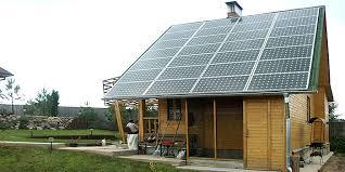 Автономное электроснабжение загородного дома.