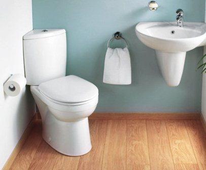 Как самостоятельно установить унитаз в ванной комнате