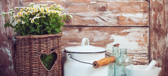 Как создать деревенский домашний декор?