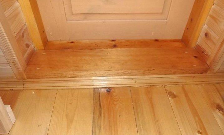 Как заменить и установить дверной порог?