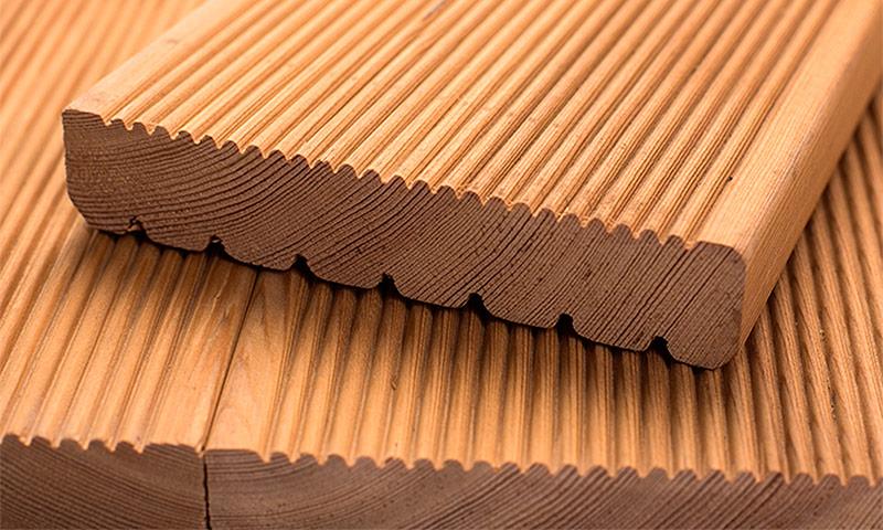 Террасная доска – разновидности, характеристики и особенности материала