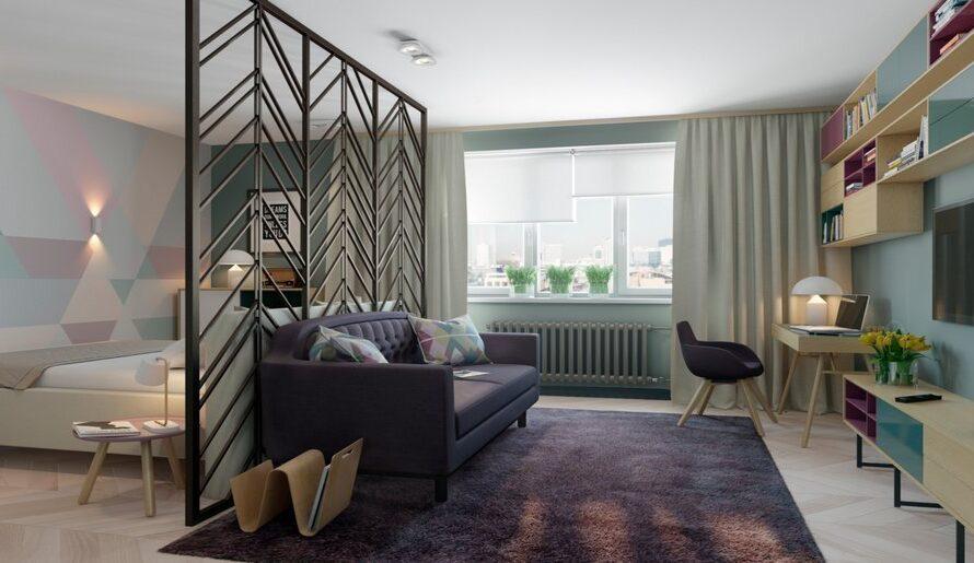 Креативные идеи зонирования гостиной