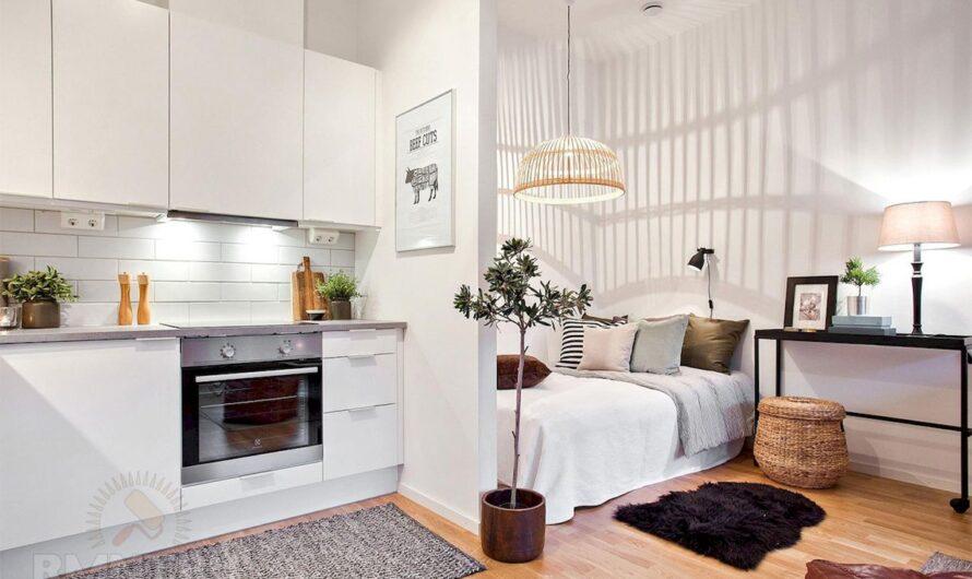 Примеры эффективного обустройства однокомнатной квартиры