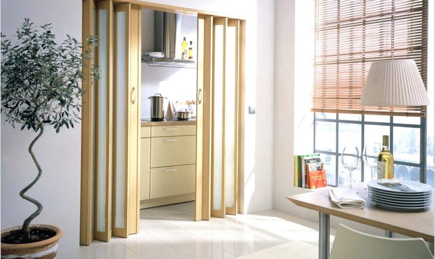 Дизайнерская хитрость – двери гармошкой