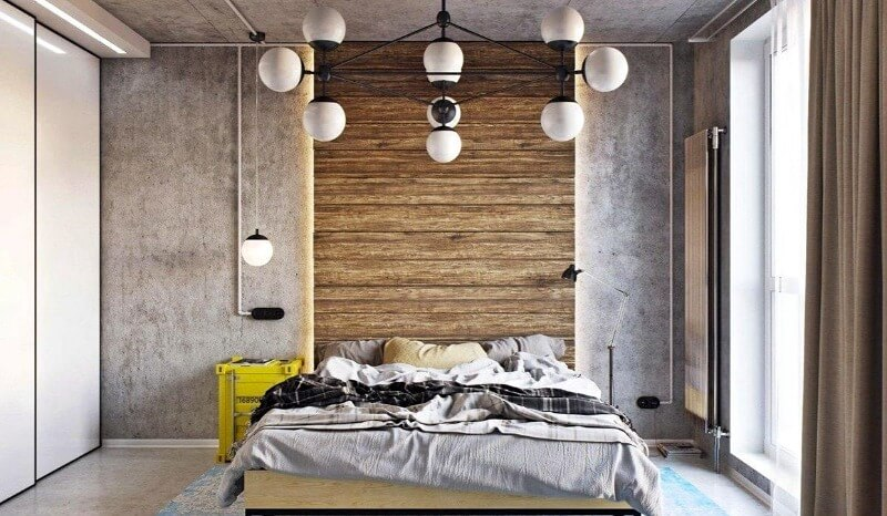 Спальня в стиле лофт – лучшие идеи и правила оформления