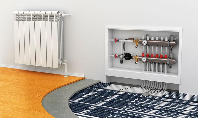 Теплый пол или радиаторы отопления — что лучше, дешевле и надежнее для частного дома
