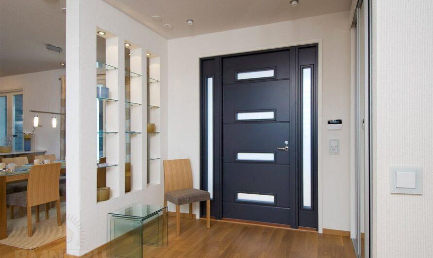 Советы по выбору входных металлических дверей
