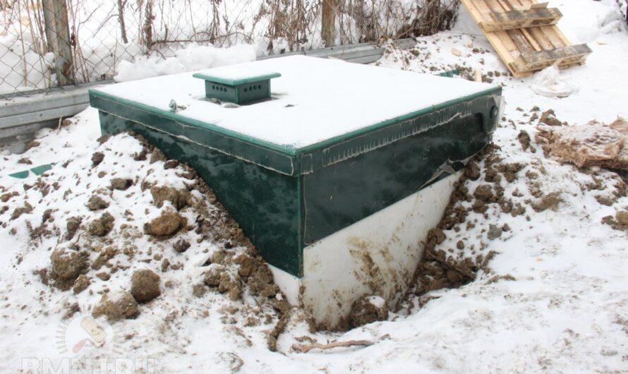Плюсы и минусы установки септика зимой и летом